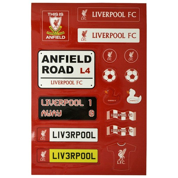 Liverpool Kids Sticker Set