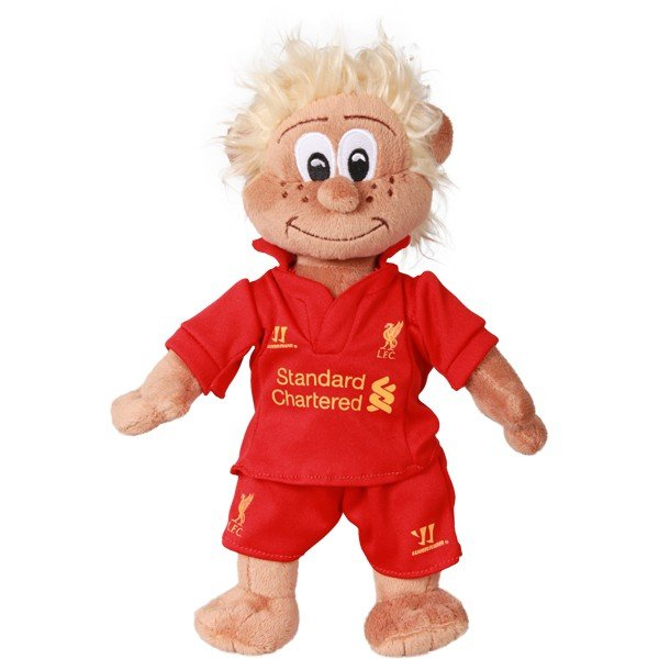 Liverpool Mascot Bear - White