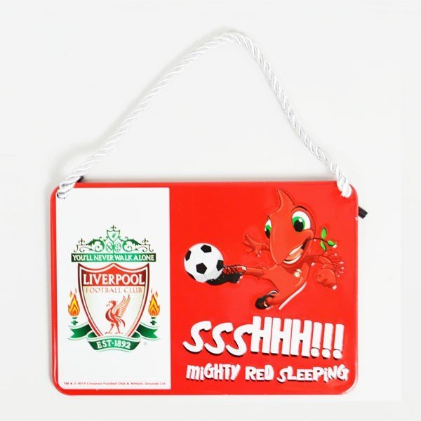 Liverpool Mascot Bedroom Sign