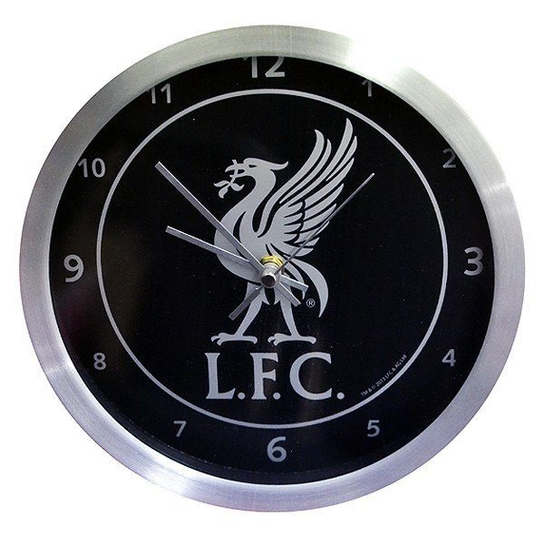 Liverpool Metallic Wall Clock