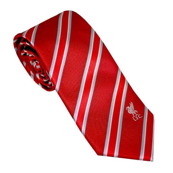 Liverpool Neck Tie Red/White Stripe