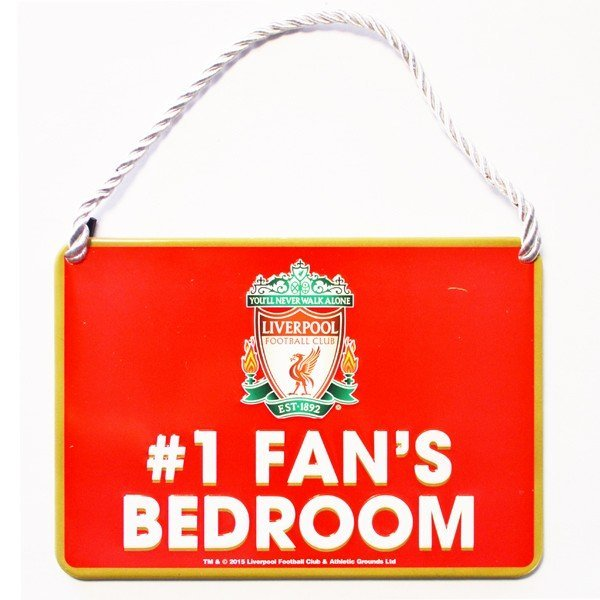 Liverpool No 1 Fan Bedroom Sign