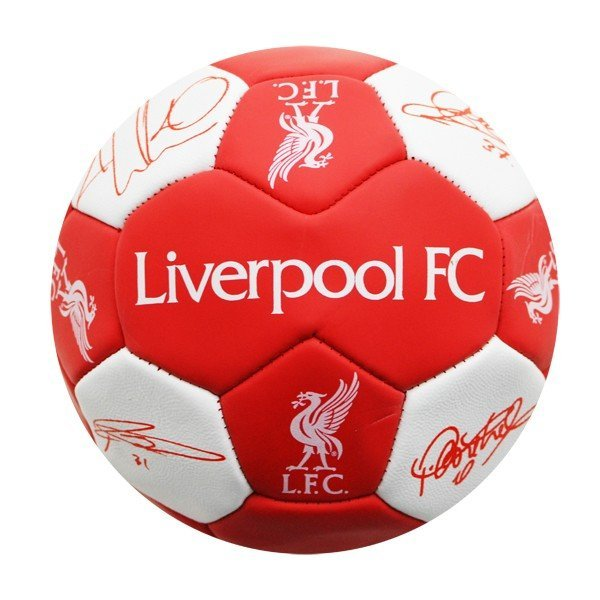 Liverpool Nuskin Signature Football - Size 3