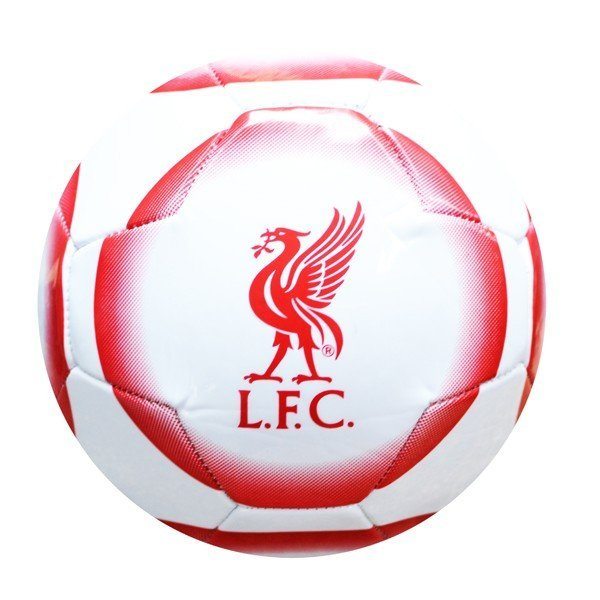 Liverpool Panel Crest Football - Size 5