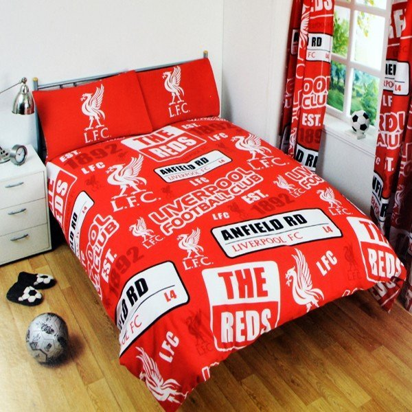 Liverpool Patch Double Duvet Set