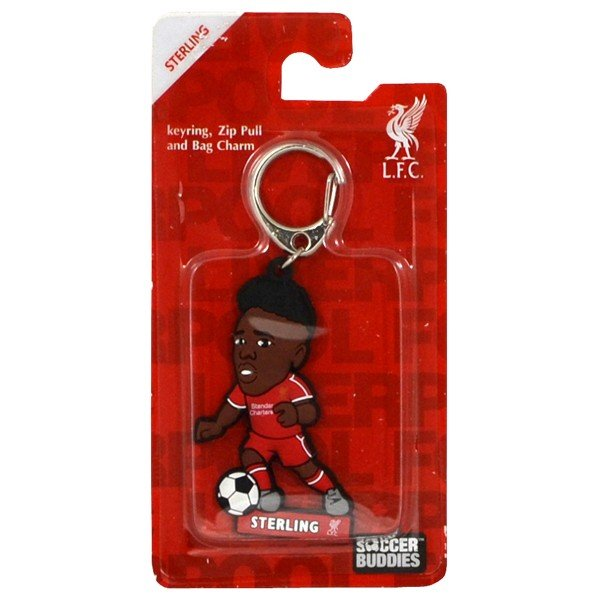 Liverpool PVC Keyring - Sterling