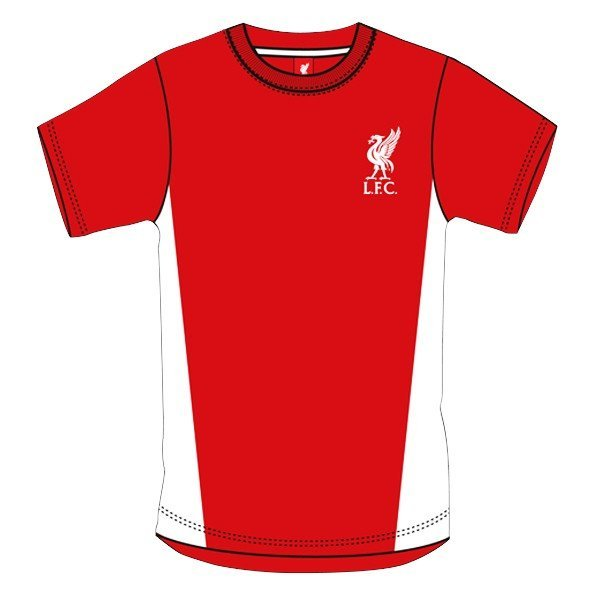 Liverpool Red Crest Mens T-Shirt - L