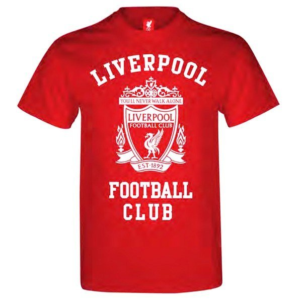Liverpool Red Mens T-Shirt - L