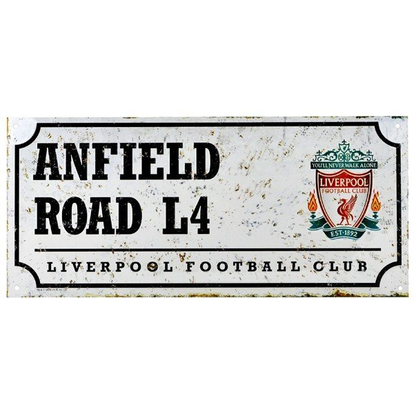Liverpool Retro Street Sign