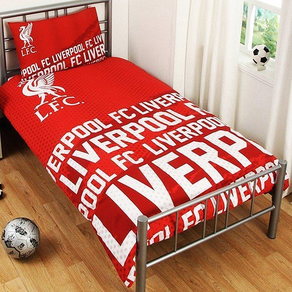 Liverpool Reversible Impact Single Duvet Set