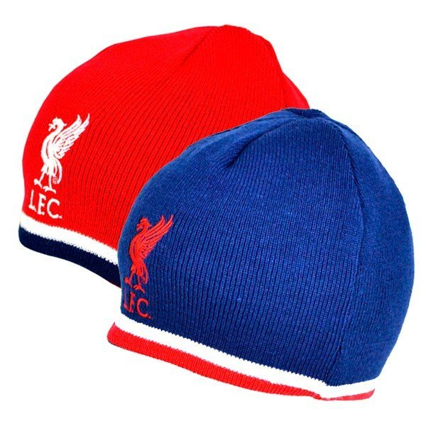 Liverpool Reversible Knitted Hat
