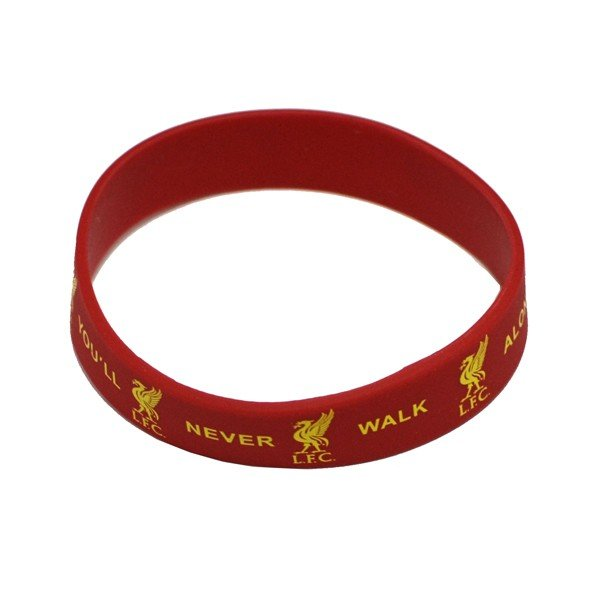 Liverpool Rubber Crest Single Wristband