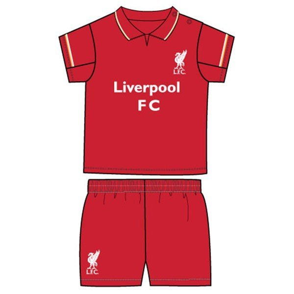 Liverpool Shirt & Shorts Set - 2/3 Yrs