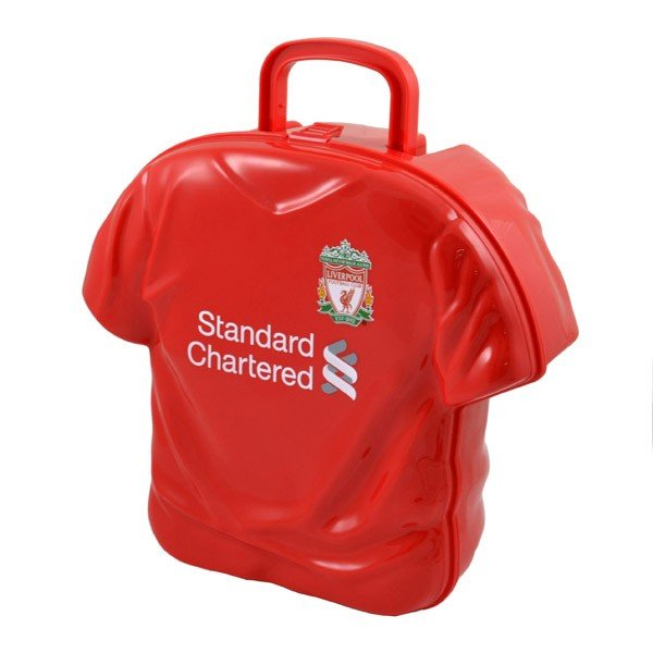 Liverpool Shirt Shaped Lunch Box