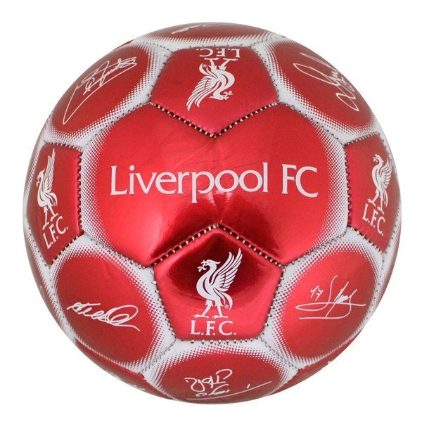 Liverpool Signature Mini Football - Size 1