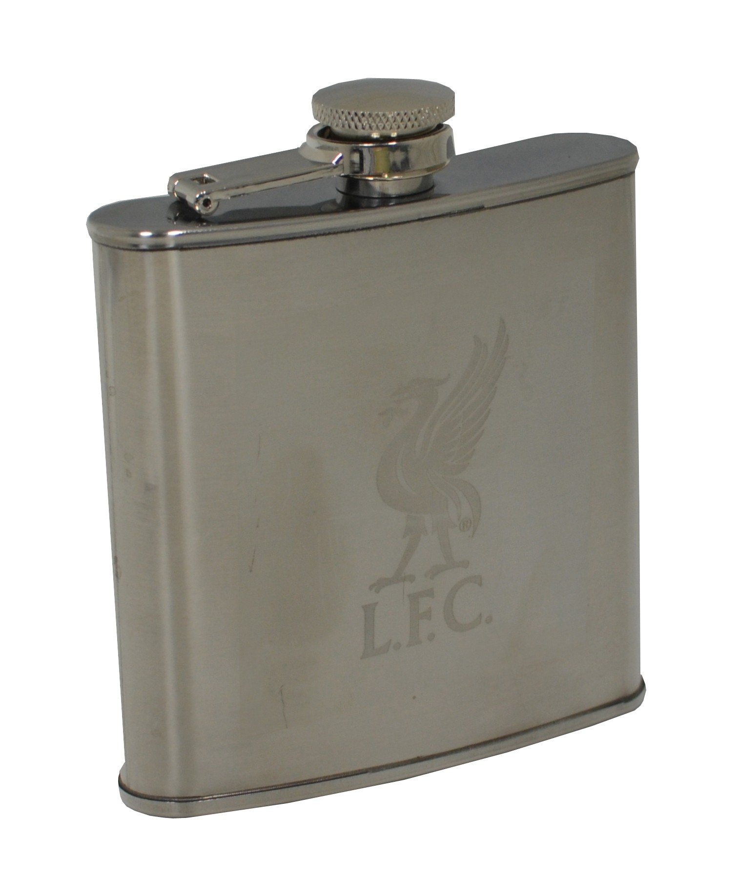 Liverpool Stainless Steel Hipflask