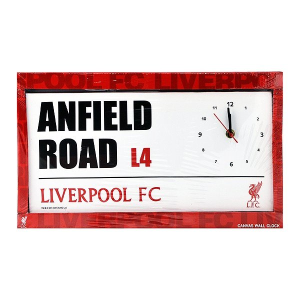 Liverpool Street Sign Canvas Wall Clock