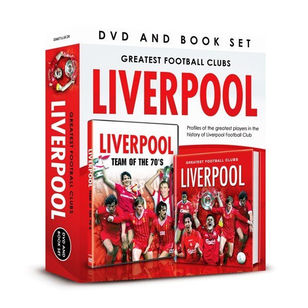 Liverpool Team Of The 70s DVD And Book Set