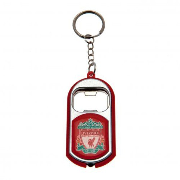 Liverpool Torch Light Bottle Opener Keyring