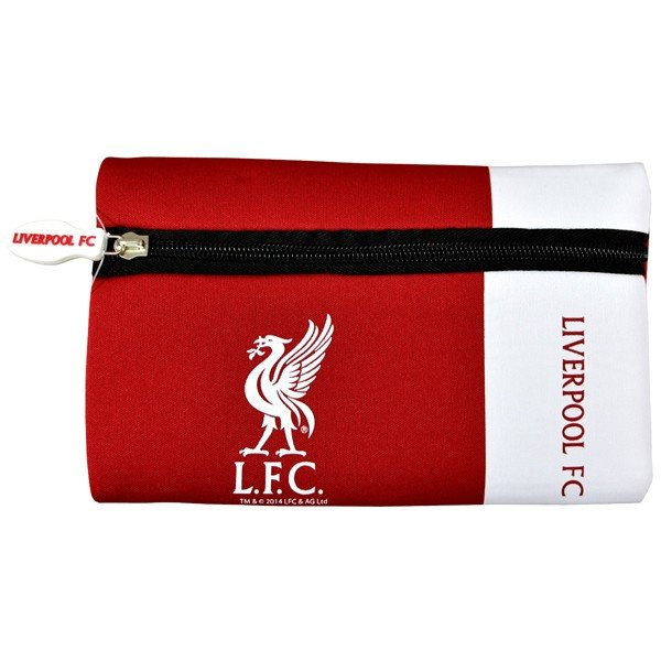 Liverpool Wordmark Flat Pencil Case