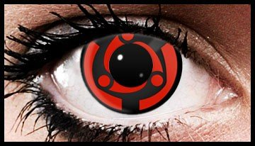 Madara Mangekyou Anime Coloured Contact Lenses (90 Day)