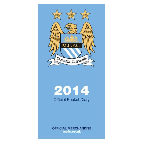 Manchester City 2014 Pocket Diary