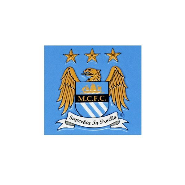 Manchester City 3D Magnetic Crest