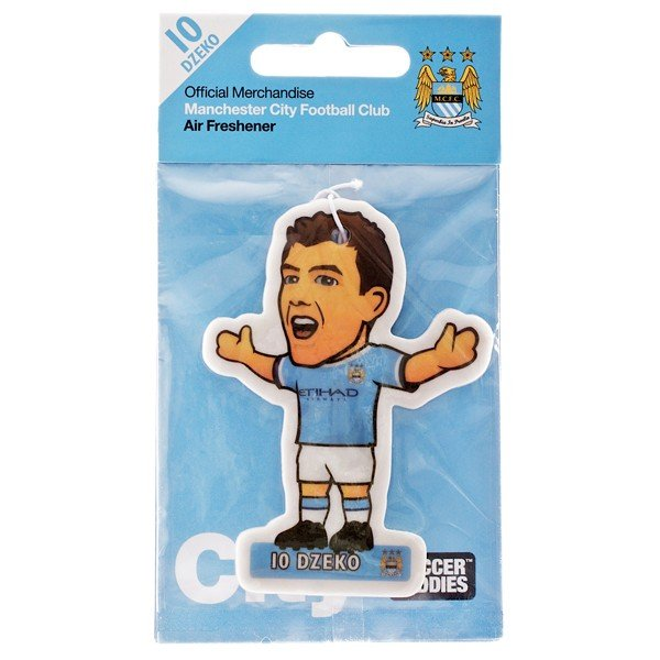 Manchester City Air Freshener - Dzeko