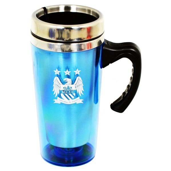 Manchester City Aluminium Travel Mug
