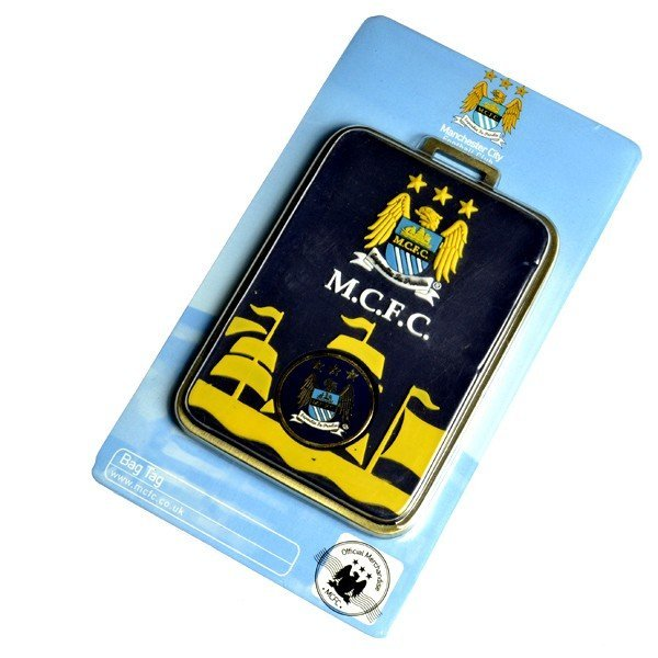 Manchester City Bag Tag Plus Ball Marker