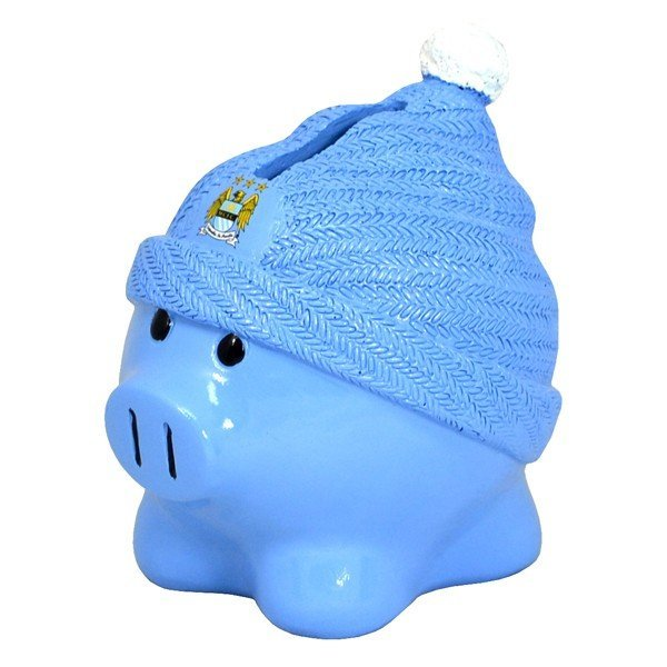 Manchester City Beanie Piggy Bank