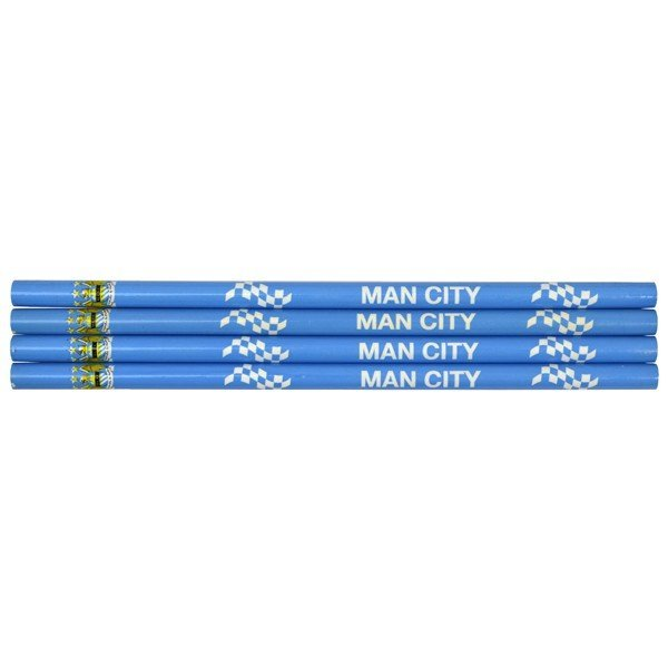 Manchester City Big Logo 4PK Pencils Set
