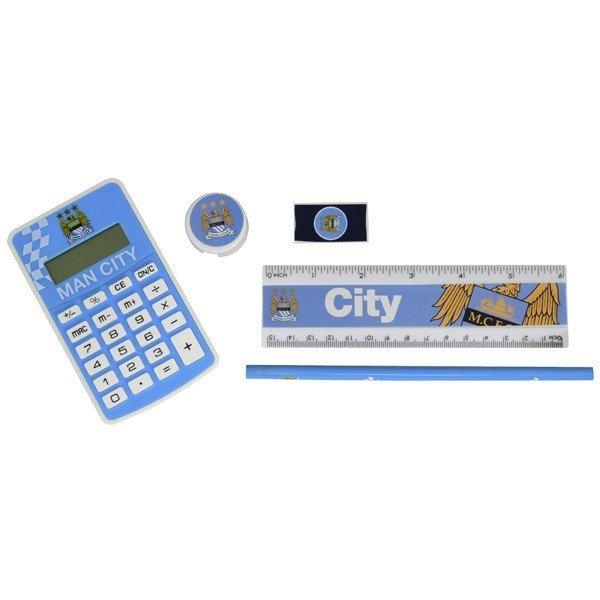 Manchester City Big Logo Exam Stationery Set