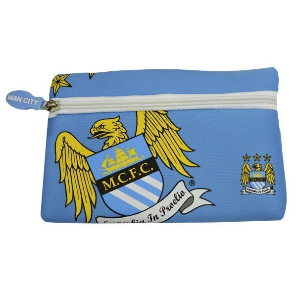 Manchester City Big Logo Flat Pencil Case