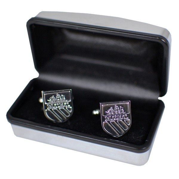 Manchester City Chrome Cufflinks