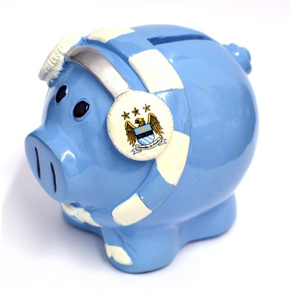 Manchester City Cold Scarf Piggy Bank