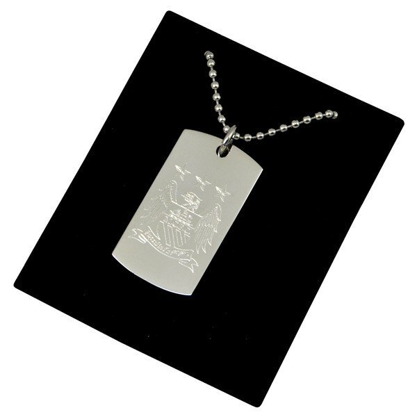 Manchester City Crest Dog Tag & Chain