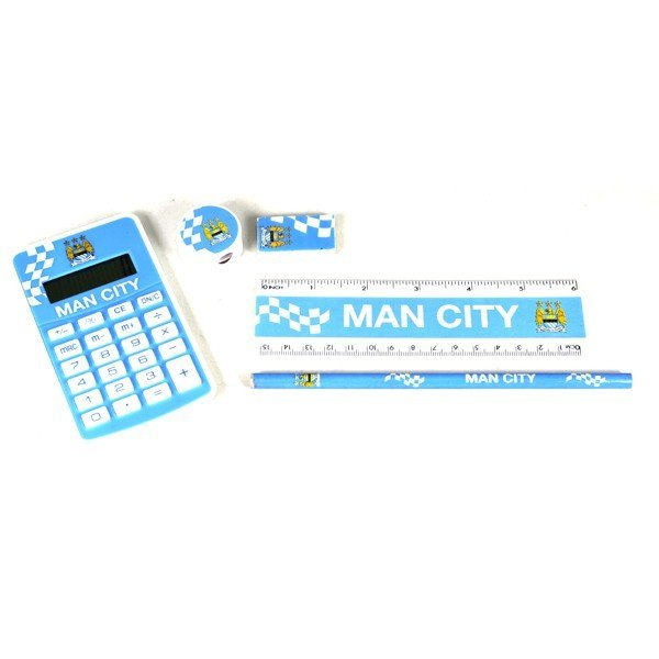 Manchester City Exam Stationery Set