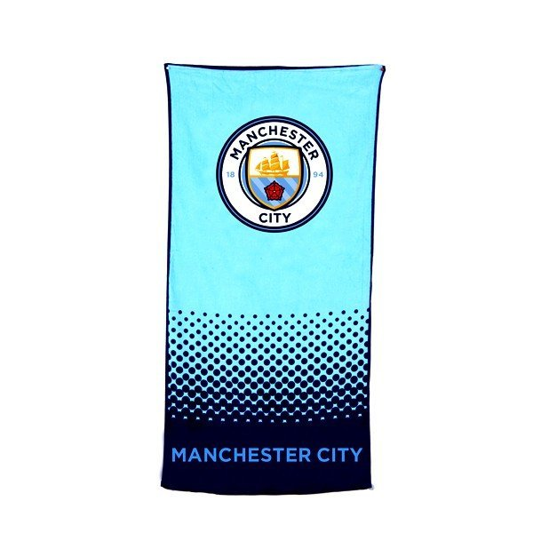 Manchester City Fade Beach Towel
