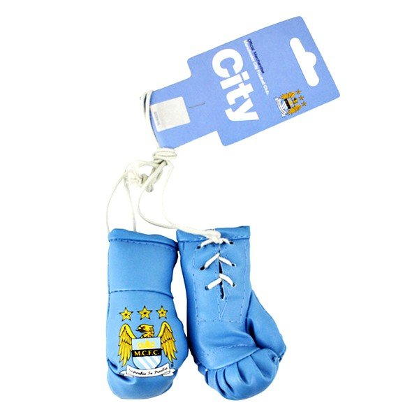 Manchester City Mini Boxing Gloves