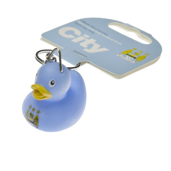 Manchester City Mini Duck Keyring