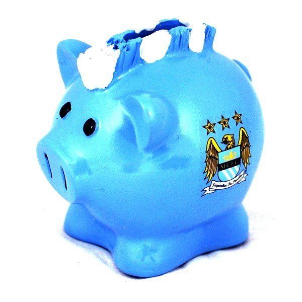 Manchester City Mohawk Piggy Bank