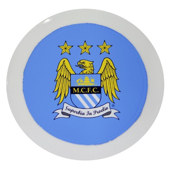 Manchester City Round Tax Disc Holder