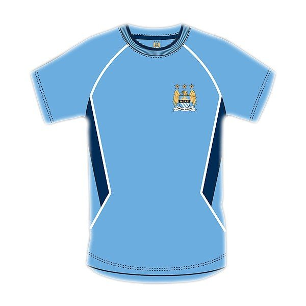Manchester City Sky Panel Mens T-Shirt - S