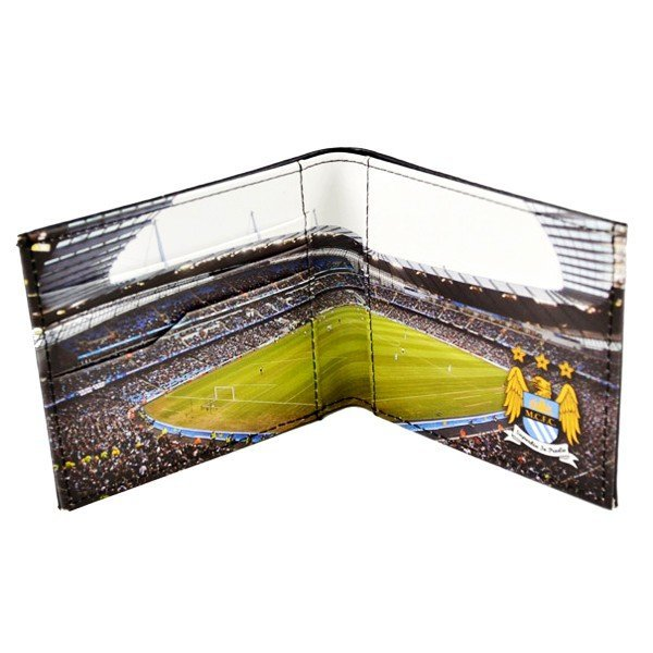 Manchester City Stadium Leather Wallet