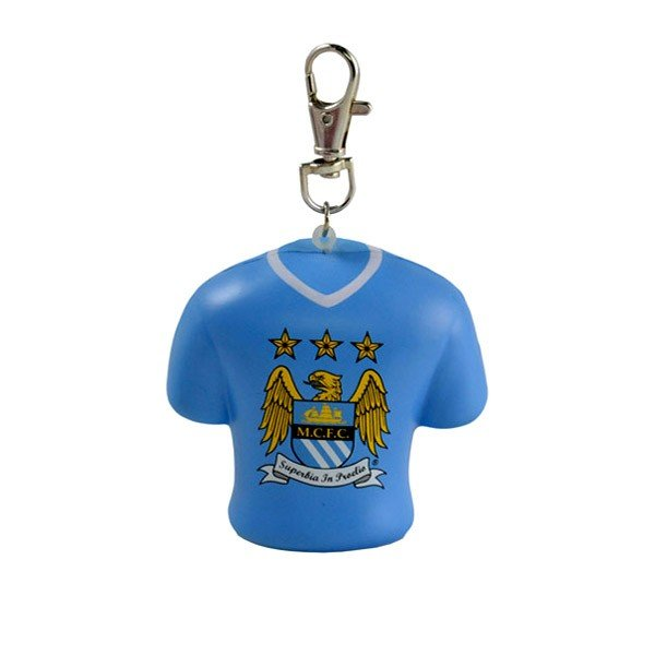 Manchester City Stress Shirt Bag Charm