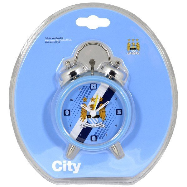 Manchester City Stripe Alarm Clock