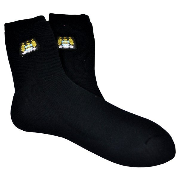 Manchester City Thermal Socks Size: 6 - 11