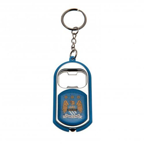Manchester City Torch Light Bottle Opener Keyring