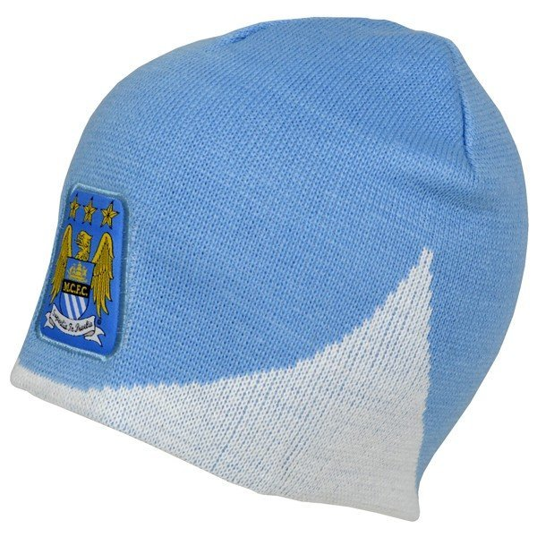 Manchester City Wave Knitted Beanie Hat